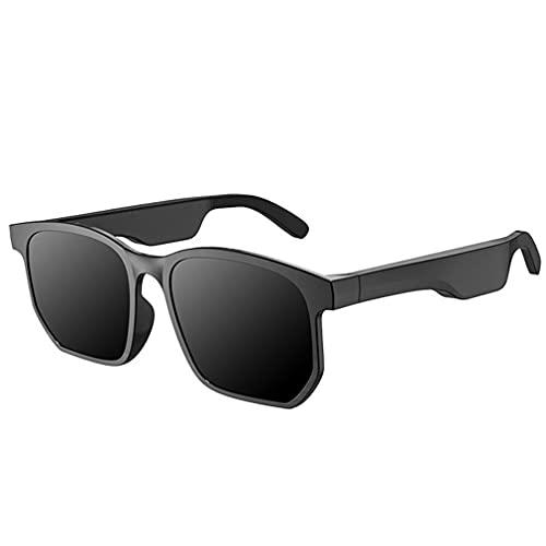 POO X12 Anti-azul deportes impermeable inteligente rectángulo inalámbrico gafas negro 15.3 * 5 * 3cm negro 15.3 * 5 * 3cm