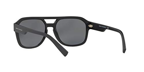 Armani sunglasses for men and women AX Armani Exchange Men's Ax4074s Rectangular Sunglasses