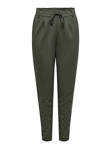 ONLY Damen Hose Einfarbige M34Peat