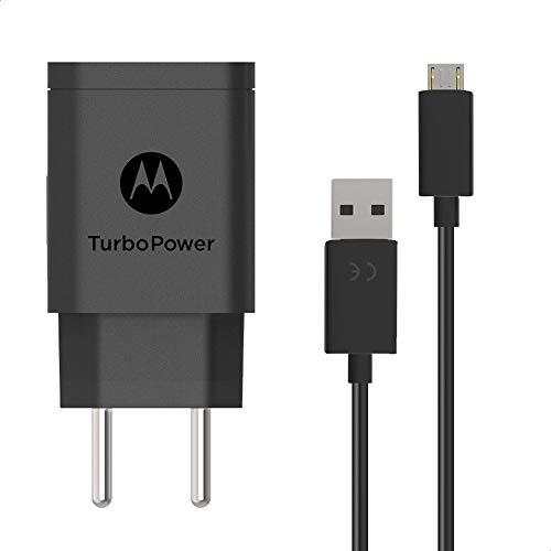 Carregador de Parede Motorola Turbo Power, 15W, 100-240V, com Cabo Micro USB