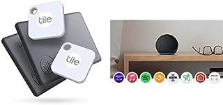 $95 » Tile Mate + Slim (2020) 4-Pack (2 Mates, 2 Slims) - Bluetooth Tracker, Item Locator & Finder for Keys, Bags, Wallets, Tabl...