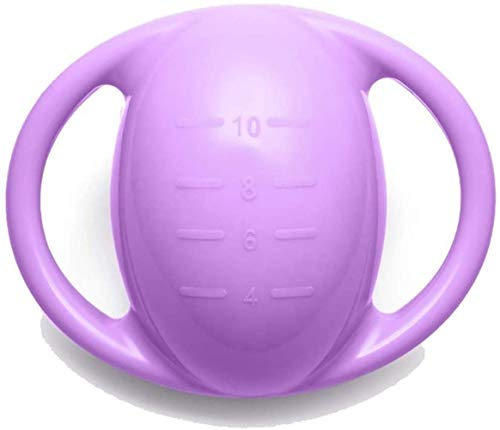 SSN Hanteln Einstellbare Hantel Gewicht Kettlebells Glocke Weiblich Hantel Männer Fitness-Wasser-Einspritzung Hantel Trainings Glutealmuskel Kettlebells Dünne Arme Abnehmen Hanteln (Farbe : Lila)