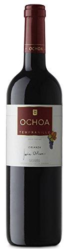 6 Flaschen Tempranillo Navarra Crianza Ochoa DO 2016 Bodegas Ochoa, trockener spanischer Rotwein aus Navarra