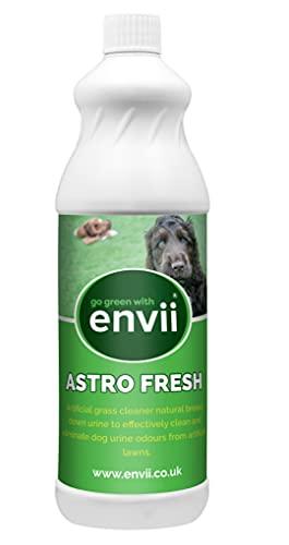 Envii Astro Fresh - Limpiador de césped artificial para orina de perros, listo para usar y fácil de aplicar, cubre 100 m2 (1 litro)