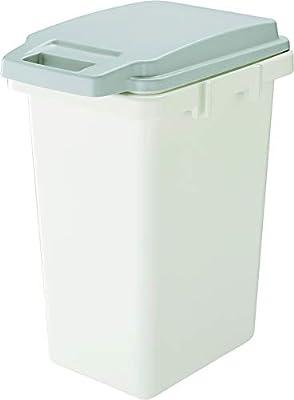 リス ゴミ箱 ワンハンドパッキンペール グレー 45L H&H 日本製 45JS
