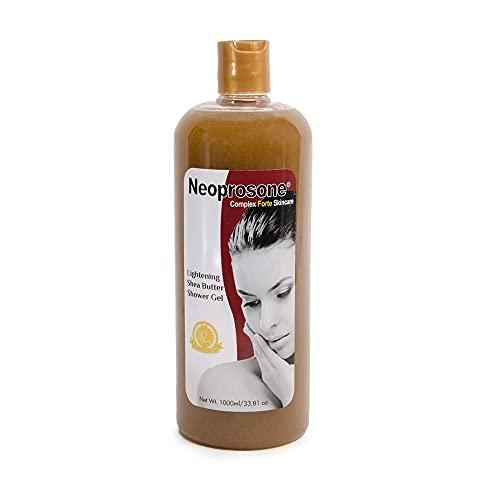 Neoprosone Shea Butter Body Wash 33.8 Fl Oz / 1000 ml