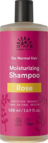 Urtekram Rose Shampoo Bio, normales Haar, 500 ml