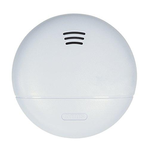 ABUS Rauchmelder RWM140 geeignet für Wohnräume und Kellerräume - 10 Jahre Batterie - kleine Bauweise - 85db Alarmlautstärke - weiß - 77181