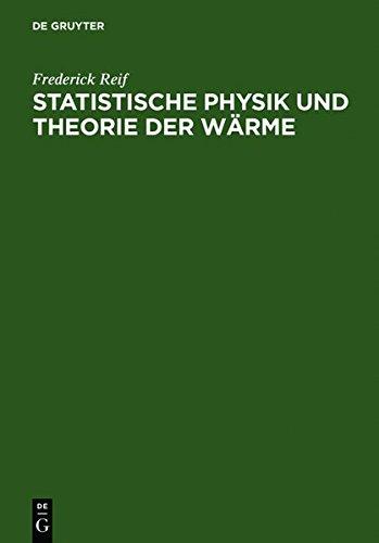 Statistische Physik Und Theorie Der Waerme