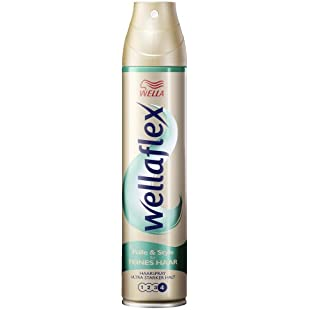 Wellaflex Hairspray Strong Hold for Fine Hair 250 ml, Pack of 3:Canliiddaa