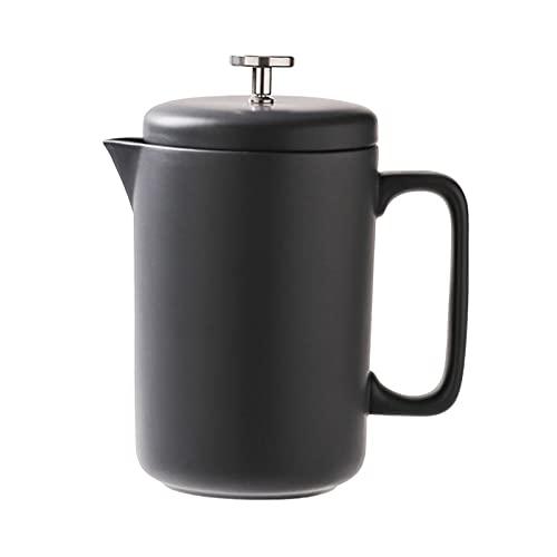 Francuski prasa do kawy Francuski ekspres do kawy prasowy ceramiczny dla dobrej kawy i herbaty Camping bez rdzawy Maszyny do kawy