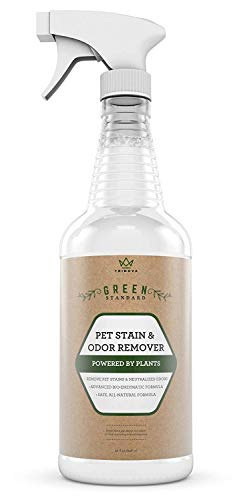 TriNova Natural Pet Stain and Odor Remover Eliminator - Advanced Enzyme Cleaner Spray - Remove...