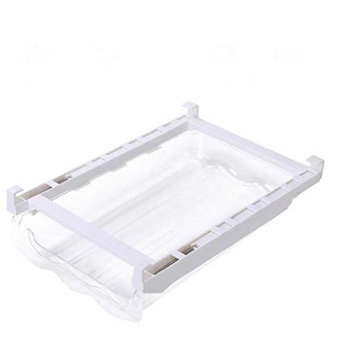 Hotaden Cocina Huevo Ajustable Organizador De Almacenamiento En Rack Caja del Congelador De Refrigerador del Estante Titular del Cajón Extraíble