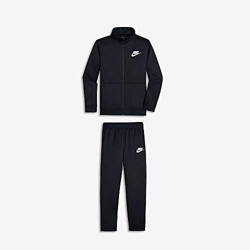 Nike Sportswear Tuta, Nero (Black/Black/White 010), X-Small Bambino