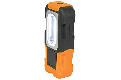 Mercury Ultra Lumineux 3 W COB LED Lampe de travail, plastique, Orange