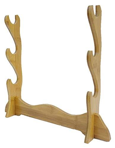 Katana - decanter per whisky, supporto per spada, in legno, per decorazione domestica, per espositori e spada, decanter (dimensioni: 5 strati)