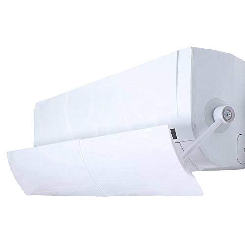 tidystore Einstellbare Faltbare Windschild-Klimaanlage Abweiser Begrenzung Luftflügelauslass Luftgekühlt Anti-Blast Schallwand Windrichtung Teleskop-Windschutzscheibe für Zuhause