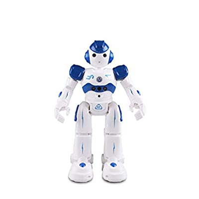 Smart RC Educational Robot Toys for Kids, Singing Walking Dancing Gesture Sensing Remote Control Robot Toy, Intelligent Programmable Led Robot Toys for 3 4 5 6 7 8 9 12 Year Old Kids Boys Girls