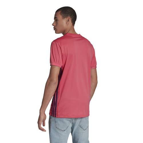 Camiseta/Adidas:REAL A JSY S Rosa