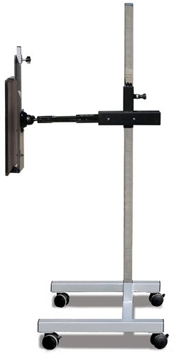 Mobile CR/DR/Film Image Receptor Holders - Extension Arm Tilt & Rotate, Vertical Clamp