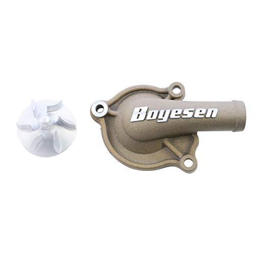 Boyesen Hy-Flow Waterpomp Cover & Impeller Magnesium Kit voor 2009-2013 Honda - One Size