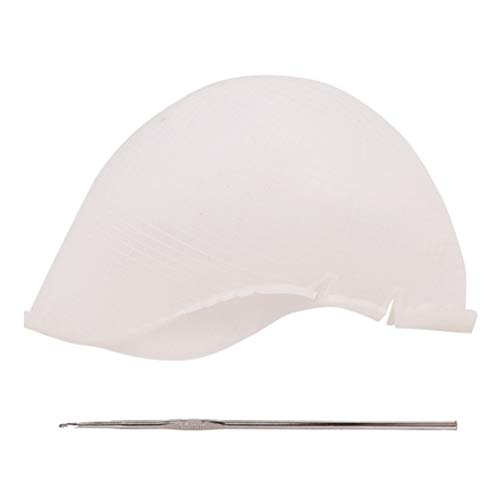 Beaupretty Silicone Highlighting Cap Professional DIY Highlight Cap...