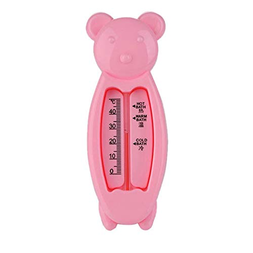 #N/V Termómetros de agua para bebé juguete inteligente forma de oso bebé juguetes medidor de temperatura