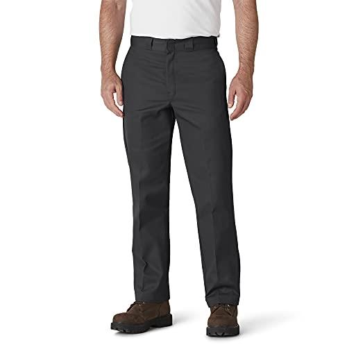 Dickies Men's Big and Tall Original 874 Work Pant, Black, 46W x 30L