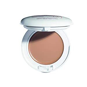 Eau Thermale Avene High Protection Beige Tinted Compact, Broad Spectrum SPF 50+, UVA/UVB Blue...