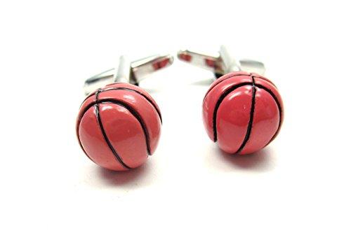 Basketball Manschettenknöpfe Modeschmuck Bunt