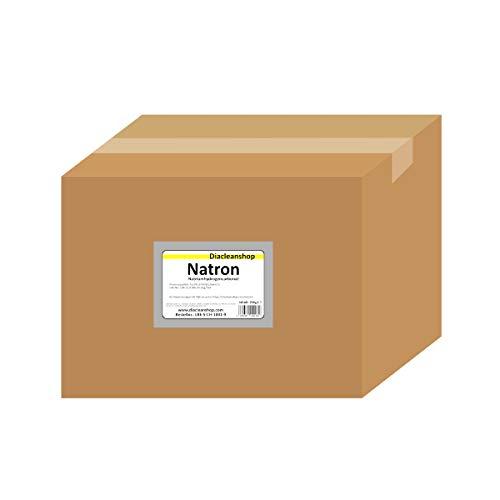 Natron 25 kg im Karton - pharmazeutische Qualität - Natriumhydrogencarbonat (E500ii) - NaHCO3 - Basenbad – Hausmittel zum Backen, Reinigen, Baden, Gerüche Neutralisieren & DIY-Kosmetik