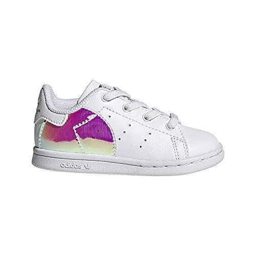 adidas Stan Smith EL, Sneaker Unisex bebé, Footwear White/Footwear White/Supplier Colour, 22 EU