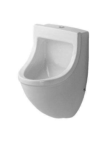 Duravit Urinal Starck 3, Zulauf von oben absaugend,o.Deckel,mit Fliege,weiß,HYG, 0822352007