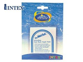 Intex 59631NP Reparatur-Patches für Matratze und Pool, 6 Stück