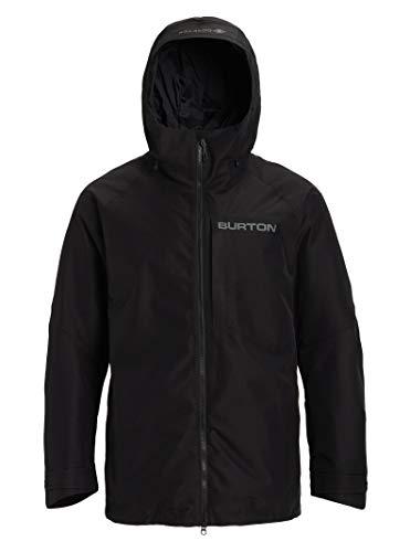 Burton Mens Gore-Tex Radial Shell Jacket, True Black New, Medium