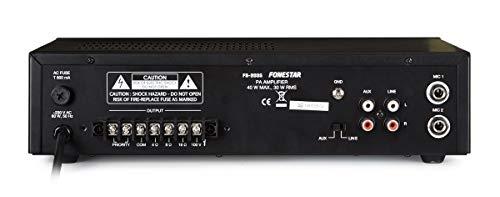 AMPLIFICADOR FONESTAR FS-2035 30W-RMS 100V/8-OHMS
