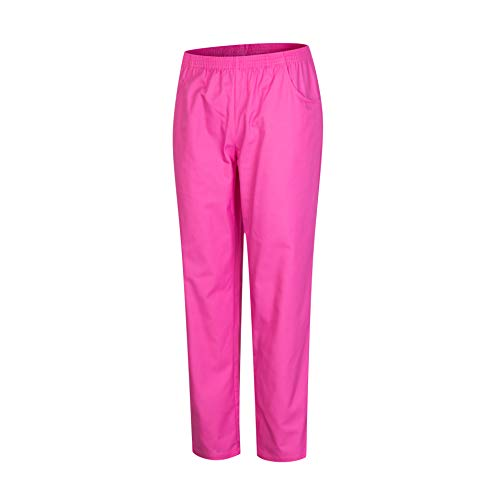 MISEMIYA - Arbeitshosen Unisex ELASTISCHE Taille UNIFORM KLINIK Krankenhaus Reinigung TIERARZT Gesundheit GASTGEWERBE - Ref.8312 - XL, Pink