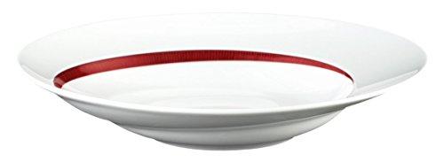 Seltmann Pastateller, Porzellan, Rot, 27 cm