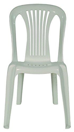 areta AR002 iRide Chaise Bistrot Blanc