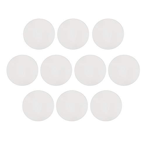 P PRETTYIA 10 Stücke Uhrenglas Direkt Ersatz Mineralglas für Universal Armbanduhren Uhr-Glasspiegel