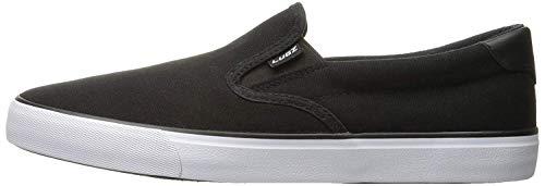Lugz Men's Clipper Fashion Sneaker, Black/White, 11 M US