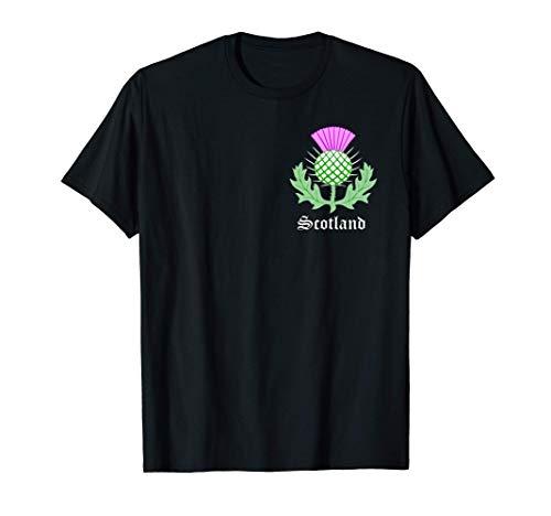 Scottish Thistle Flower Celtic Symbol Scotland Gifts T-Shirt