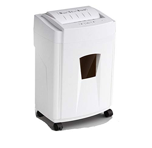 Lowest Prices! FEE-ZC Shredders Home Use, 6 Sheet Cross Cut Paper Shredder for The Small Or Home Off...