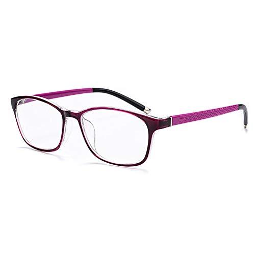 D&XQX anti-Blu-Ray leesbril computerbril TR90 veld-hars-lenzen leesbril dioptrieën +1,0 tot +3,5
