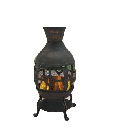 Outdoor Durable Cast Iron Antique Bronze Fire Pit