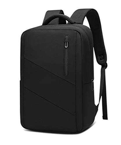 リュック メンズ ビジネス 薄型 軽量 撥水 通勤 ビジネスバッグ ビジネスリュック スーツ リュックサック PC パソコン 背面メッシュ 20L 機内持ち込みOK (ブラック)