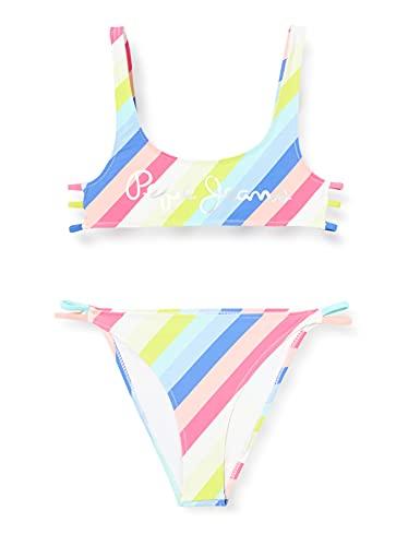 Pepe Jeans Alejandra Bikini, 325pink, 4 para Niñas