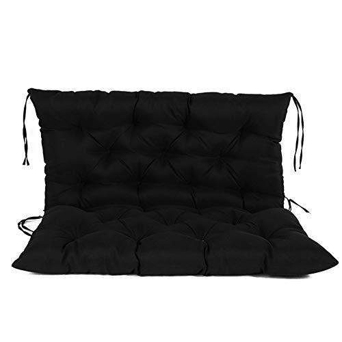 daiyanjing Poduszka na ławkę: poduszka na taras, do huśtawki, na zewnątrz, miękka, oddychająca poduszka na ławkę, wygodna poduszka wisząca na krzesło Swing, poduszka na sofę, ławkę ogrodową na świeżym powietrzu
