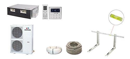 Split–Aria condizionata Canale dispositivo Sinclair Uni DC Inverter 14KW 3phasig a +/A