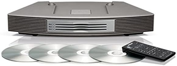 Bose Wave music system multi-CD changer, Titanium Silver
